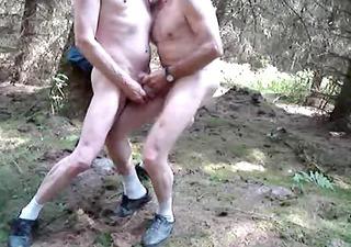 outdoor masturnating