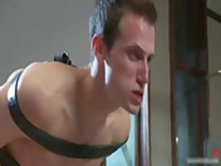josh receives fastened and ass slapped homo