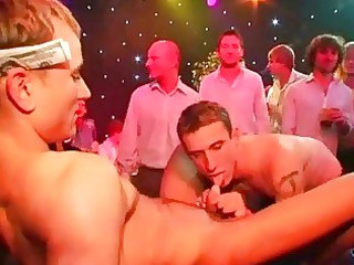homo party studs engulf on knobs