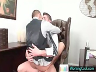 shane getting threesome chubby rod up his