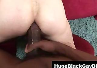 twink takes dark dick