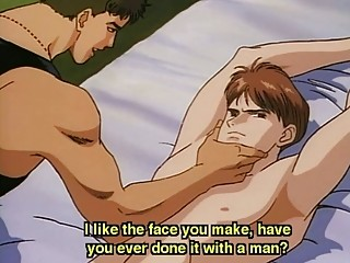 anime homosexual fastened and screwed by a guy