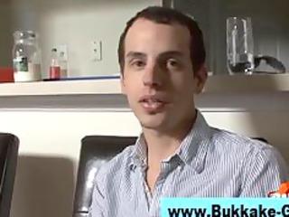 gay twink bukkake group sex fuckfest