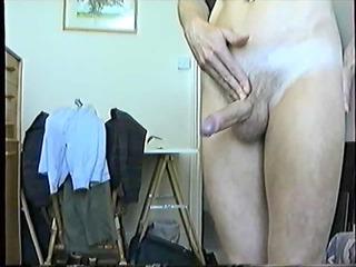 slim guy pumps out large load