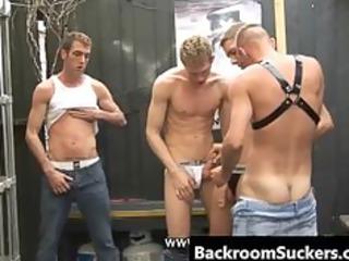 so many homosexual studs, so many cocks to engulf