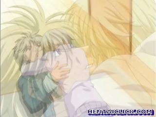 hentai gay hot blowed and wazoo fucked