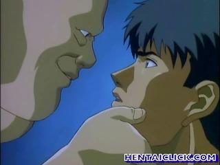 manga gay sucked and banged
