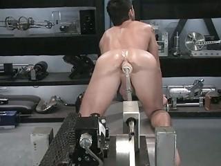 naughty homo guy toys his gaping anus
