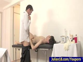 doctor testing astounding julian
