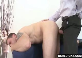 excited amateur hunk getting screwed hard bareback