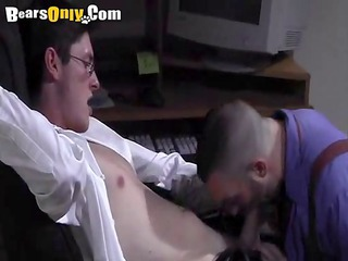 impressive guys office oral-service