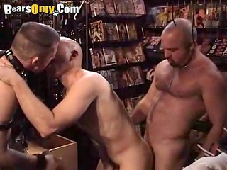 shaggy daddies in the sex shop