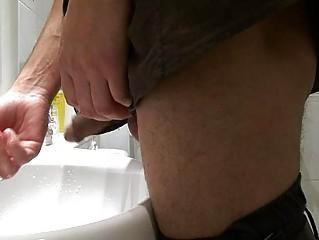 homo stud acquires caught pissing in the public