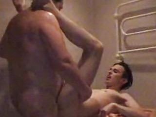 fat homosexual dad slamms twinks taut arse in
