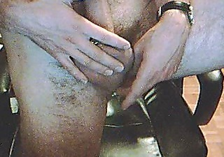 sexy guy with large pierced dick piercing-french