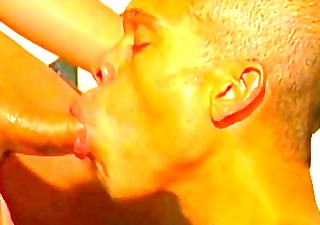 youthful dark gays twink meat fucking and sucking