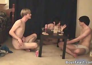 super hawt homo legal age teenagers having a game
