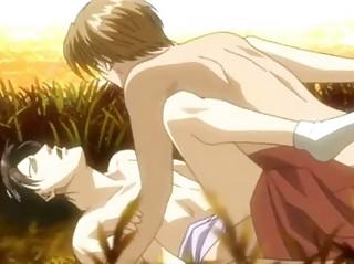 gracious anime gay having hot penetration joy