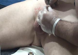 piercing cock an ball