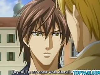 manga homosexual knob ravage in elevator and