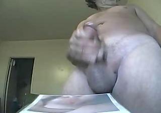 jacking off on rhondas ass pic