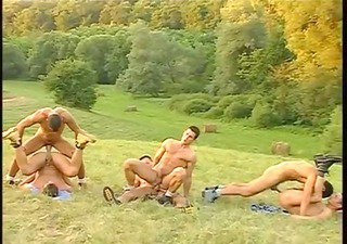 hot and hot homosexual group sex outdoor