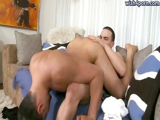 sexy homosexual guys licking their assholes