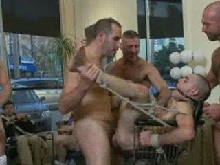 homo sex public bondage humiliation undressed bad