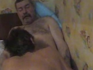 overweight older homo receives his boner sucked