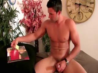 hunky ambisexual pornstar