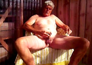 mr m can his penis! and strokes it!!!