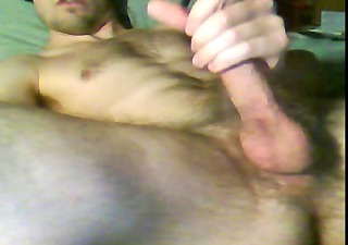 hirsute youthful sexually excited hung cum