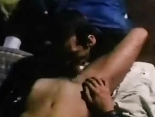 retro bearded homo fist fucking