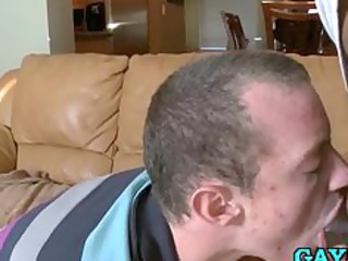 sexy homosexual fellow loves swallowing