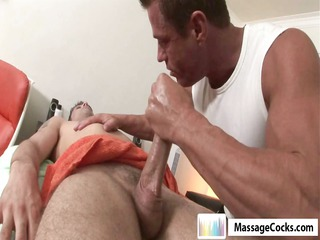 massagecocks first time massage
